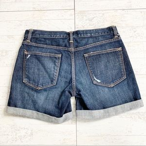 GAP Shorts - Gap Sexy Boyfriend Distressed Cuffed Jean Shorts